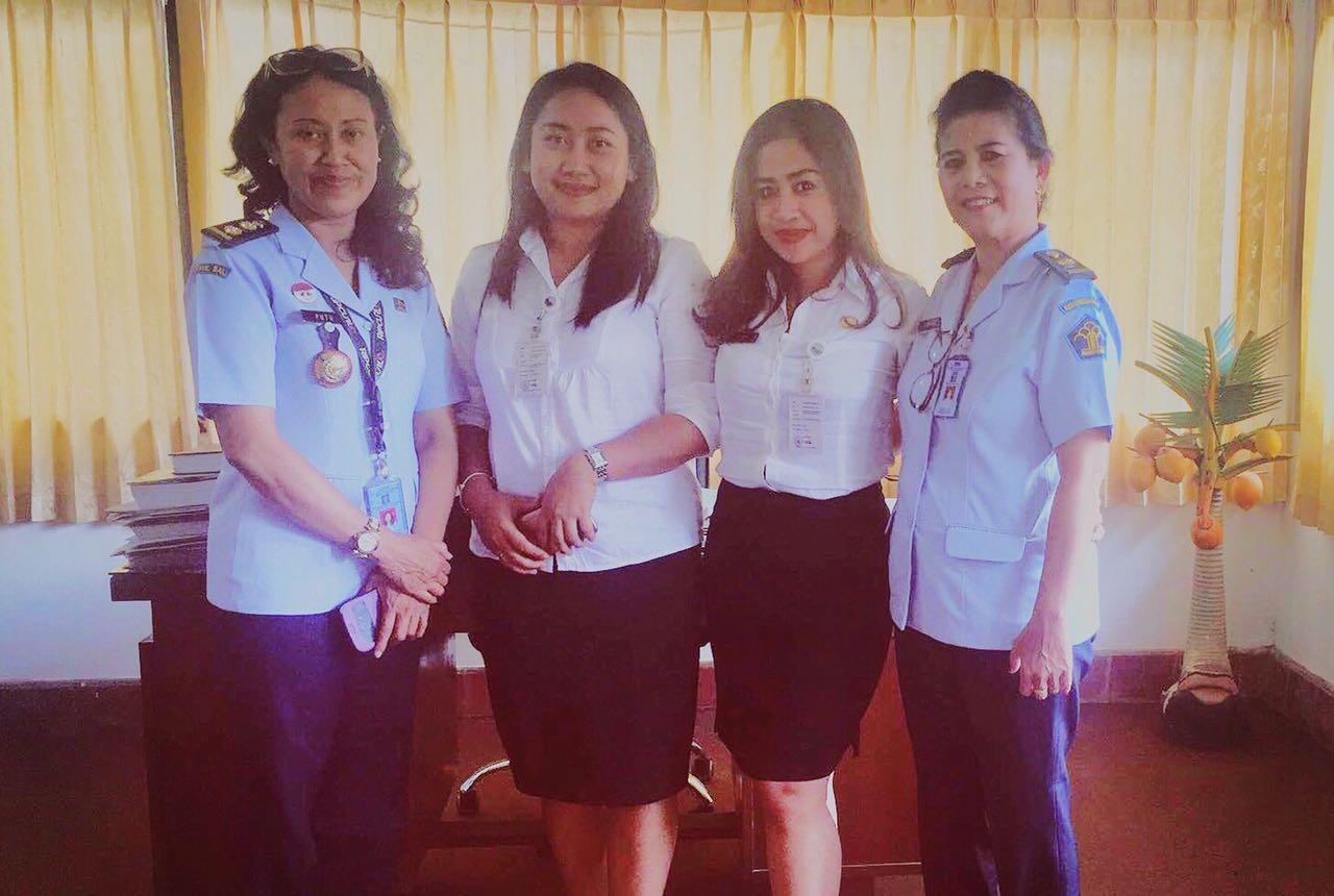 Kunjungan dari Kanwil Hukum dan HAM Bali