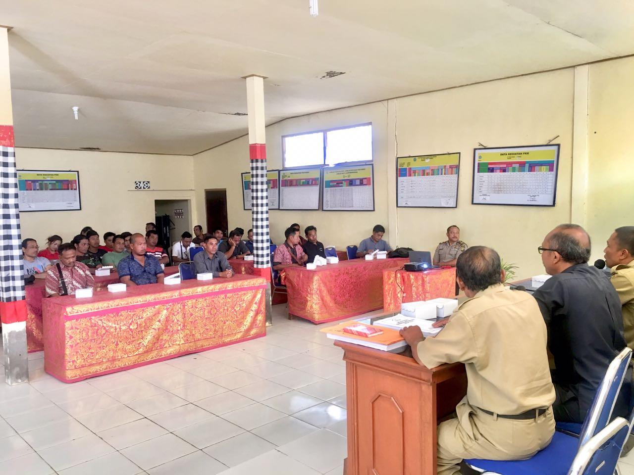Pembinaan Keluarga Sadar Hukum Tahun 2018 di Desa Landih
