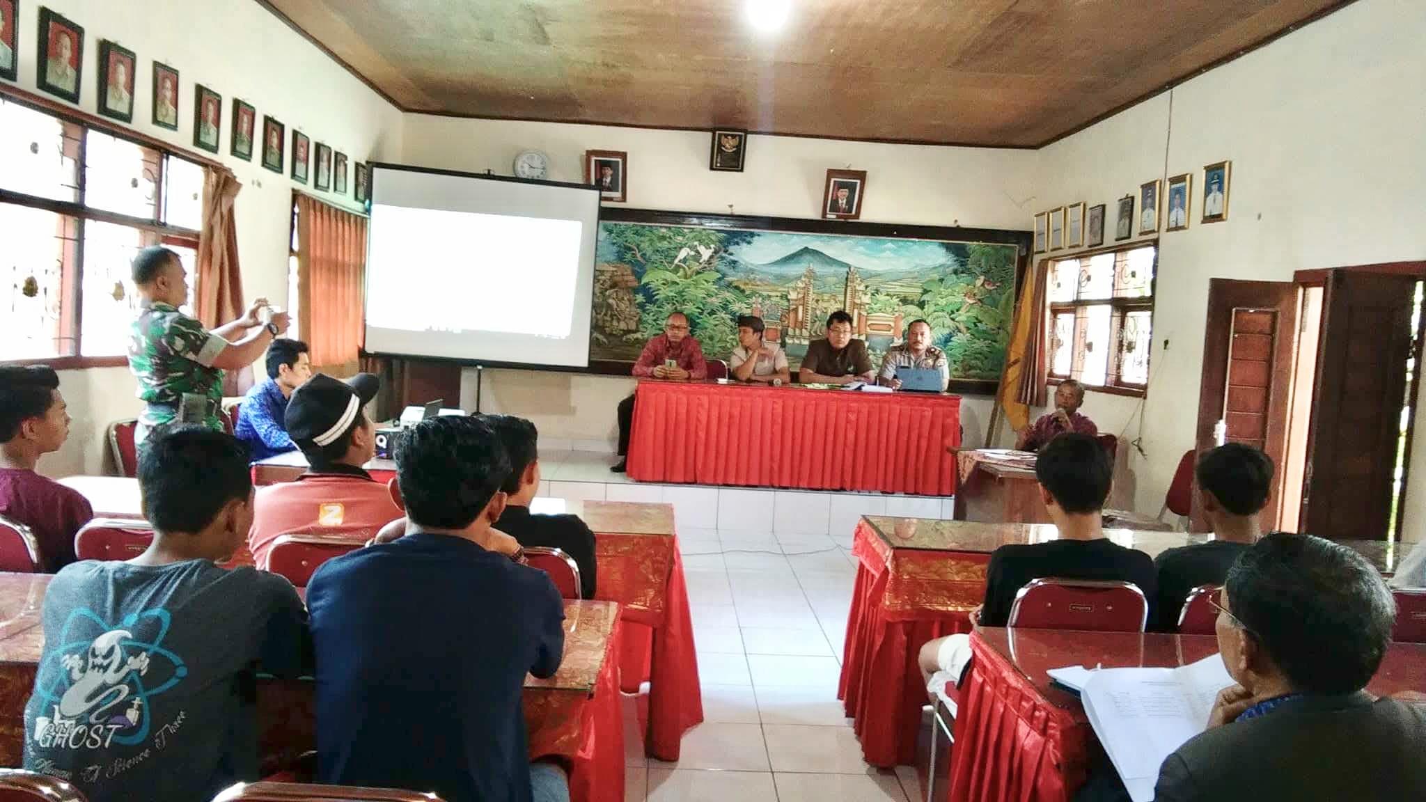 Pembinaan Keluarga Sadar Hukum Tahun 2018 di Desa Yangapi