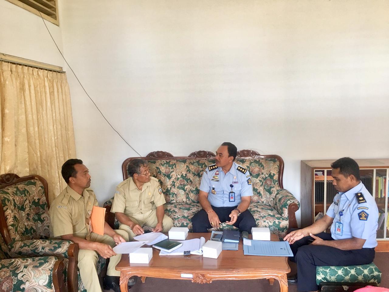 Kedatangan Kanwil Hukum dan HAM Bali