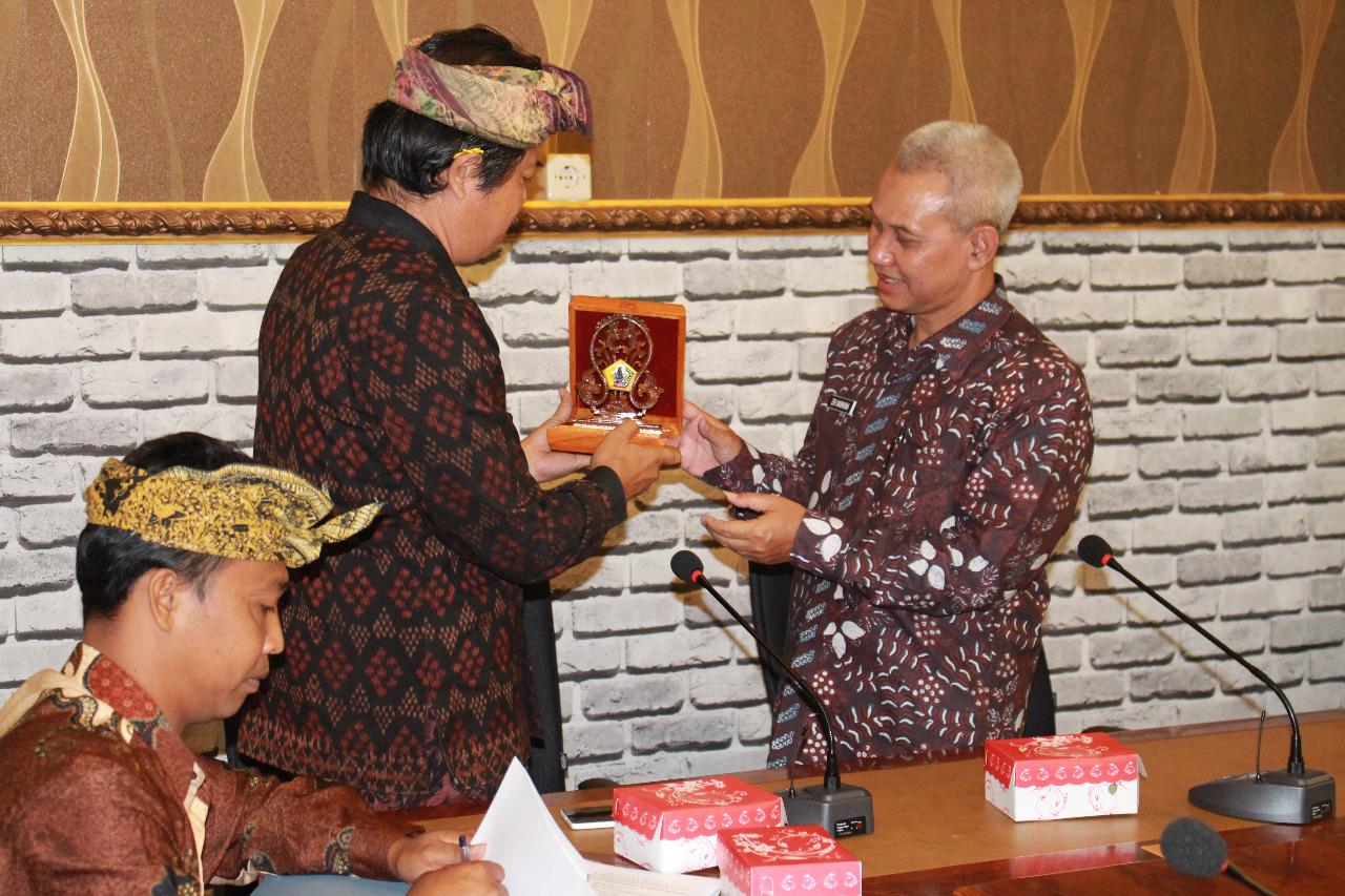 Kunjungan Kerja Bagian Hukum Setda Kabupaten Sleman Yogyakarta